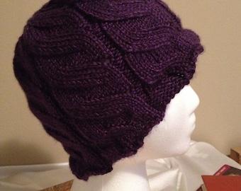 Purple Vines Hat