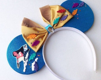 Pocahontas inspired ears headband