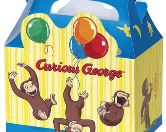 Curious George Treat Boxes 4ct
