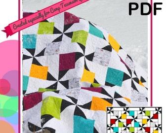 hidden pinwheels!  PDF DOWNLOAD