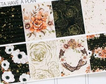 Planner Stickers Autumn Spice Full Box for Erin Condren, Happy Planner, Filofax, Scrapbooking