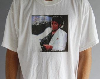 Michael Jackson Thriller T-Shirt - Vintage Band Tee - MJ Thriller Band Shirt