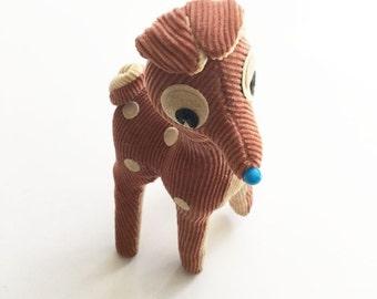 Vintage Japanese Stuffed Doe Vintage Stuffed Animal