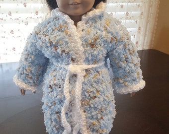 18 Inch Doll Robe with Slippers
