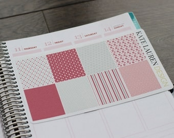 Anniversary Planner Stickers, Full Box Love Stickers for Erin Condren Planner, Romantic Stickers, Valentine's Planner, Wedding Stickers
