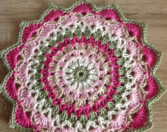 Pretty Crochet Mandala