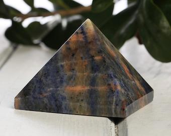 Deep Blue Sodalite Crystal PYRAMID