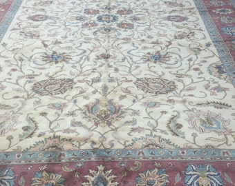 """10'2"""" x 14'2"""" Egyptian Sultanabad Oriental Rug - Hand Made - Very Fine - Vegetable Dye - 100% Wool"""
