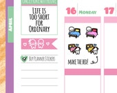 Munchkins - Make Your Bed Chores Planner Stickers (M160)