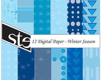 DIGITAL PAPER - scrapbook papers, background