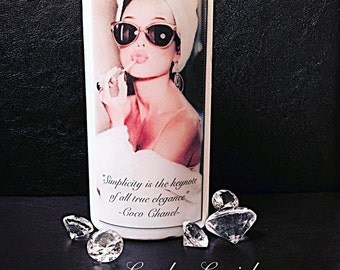 Glam Coco Chanel inspired candle/chanel/fashion decor/ gift
