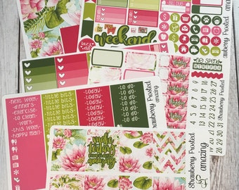 AMAZING ---- Weekly Planner Kit ---- {Includes 210+ Stickers}