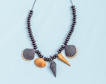 Sea Shell Necklace Beach Necklace Nautical Necklace Seashell Necklace Ocean Jewelry Hawaiian Necklace Beachy Jewelry Ocean Necklace