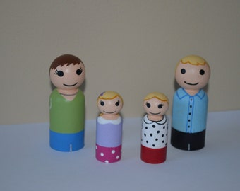 Custom Family of Four