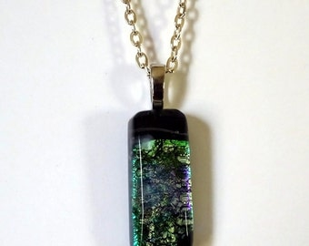 Hand Crafted Glass Pendant
