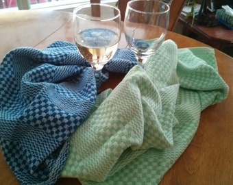Handwoven Tea Towels (natural fibers - 100% cotton) - Many colors available