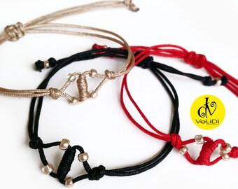 Macrame Knot Bracelet with Beads, Boho Fashion Bracelet with Beads, Boho Chic Jewelry