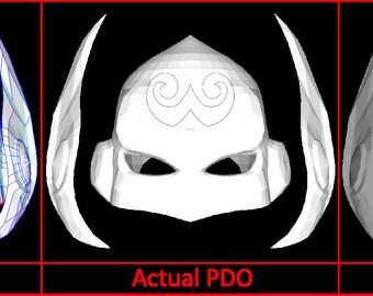 Jane Foster Thor Helmet Pepakura