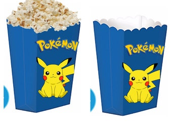 Pokemon treat boxes