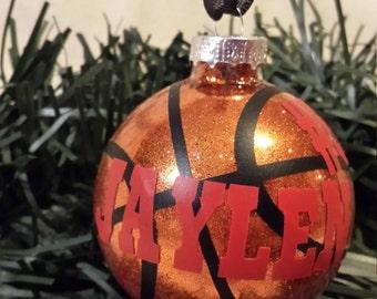 Christmas Ornament - Basketball