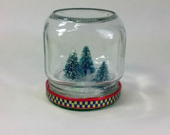 Mini Christmas Tree Grove Jar