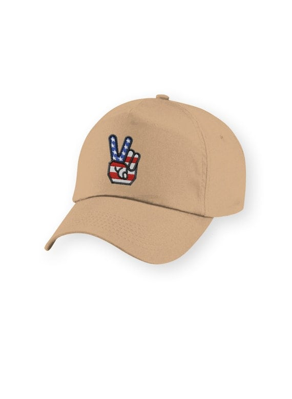 hats baseball cap hat america american flag peace by