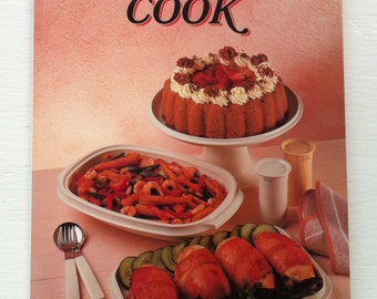 Vintage Book - The Tupperware Cook Book - 1989