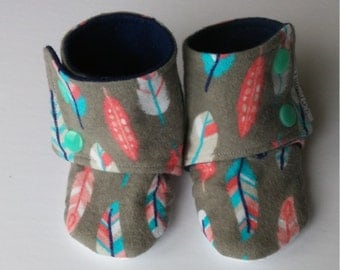 "Slippers/slipper for baby ""Maggie"
