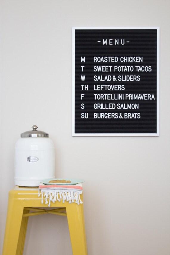 16x20 letter board w 290 characters black felt by letterfolk. Black Bedroom Furniture Sets. Home Design Ideas