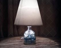 Patron bottle lamp