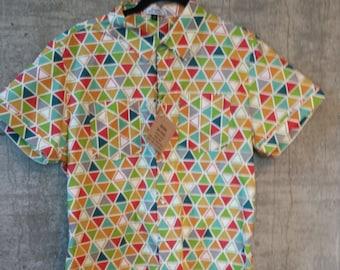 Triangle Weave organic shirt