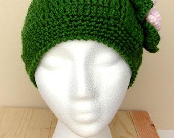 Women's Crocheted Cap