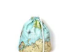 Maps of the world gym bag - hannisch