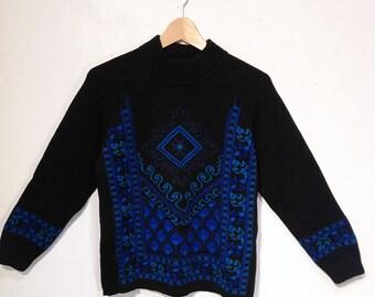 Mod snowflake sweater