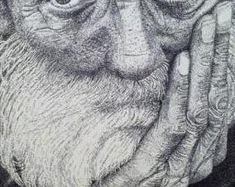Old Man Print