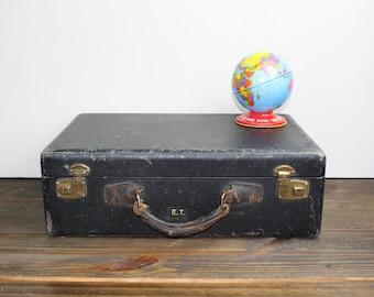 Vintage Suitcase Black Suitcase Vintage Luggage