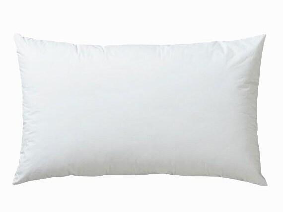 Floor Pillow Insert 30 X 30 : 20x30 Lumbar Pillow Insert Cotton Cover 100% Premium