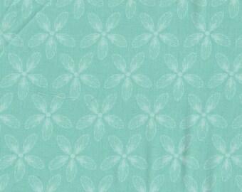 Filigree in Aqua - 1 yd - Camelot Cottons