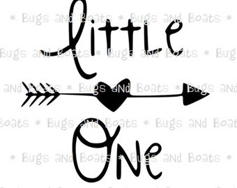 Little One SVG and DXF files