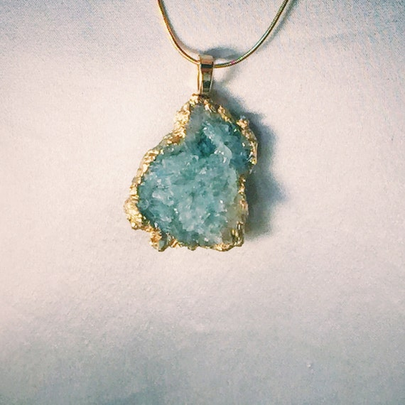 Aquamarine Blue Green Raw Druzy Crystal Necklace Pendant  18k. Tree Branch Necklace. Recovery Pendant. Cheap Fashion Jewelry. Hexagon Wedding Rings. Price Diamond. Marquise Diamond Bracelet. Finger Engagement Rings. Feather Watches