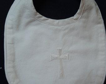 Baby Baptismal, Christening Bib