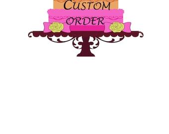 Donschietz Custom Cake Accessories/Diaper Cake Accessories/ Baby Shower Decorations/ New Baby