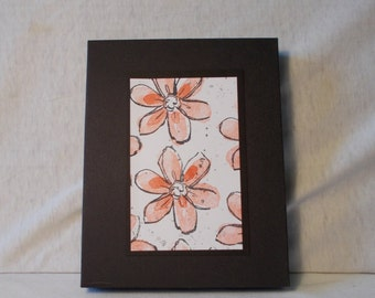 Handmade Floral Greeting cards-set of 8