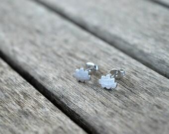 Cloud Earrings // Pendientes Nuve
