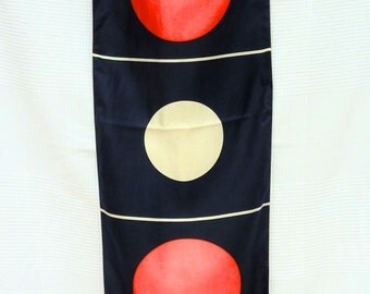 Miss RICCI Vintage - geometric silk scarf
