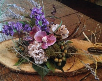 Rustic floral arrangement, floral arrangement, country style floral arrangement, mothers day gift