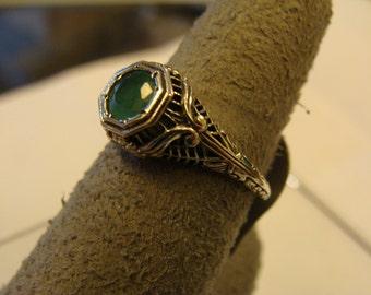 Victorian Era Emerald