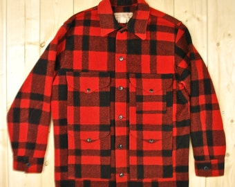 Vintage 1960's/70's FILSON MACKINAW Cruiser Plaid Hunting Jacket Retro Collectable Rare