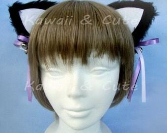 Black Cat Ears: Neko little Jingle Bell