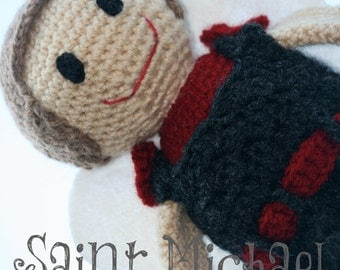 Saint Michael the Archangel Crochet Pattern